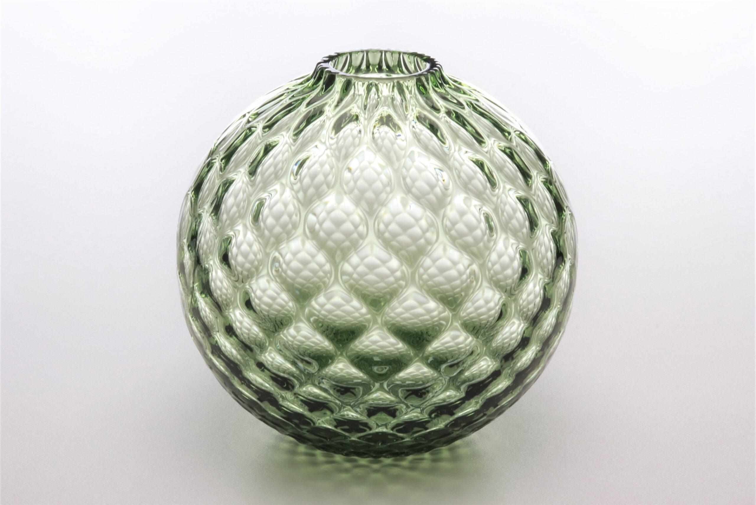 フィオラグリッド<br /> ボール花器(フォレスト)