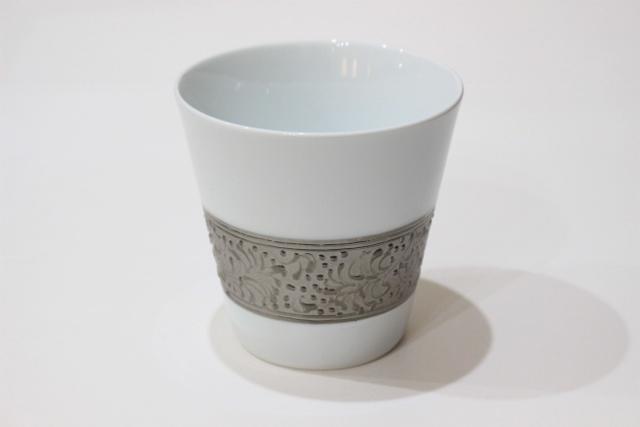 プラチナリング<br /> ロックフリーカップ(白)
