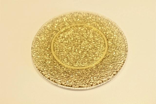 キサラ 15cm丸皿(タン)