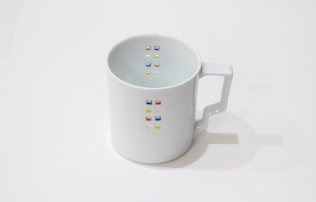 水晶スクエア(カラフル)<br /> Tマグカップ