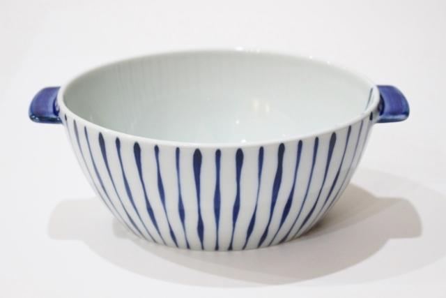 染付<br /> e丼(つれづれ十草・青)