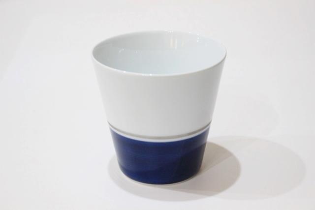 半塗<br /> フリーカップ(青)