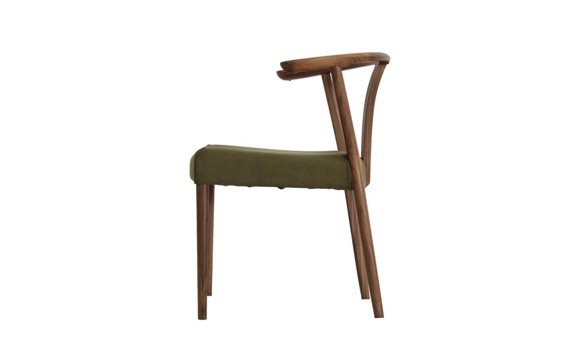 CW46モデル 肘付食堂椅子