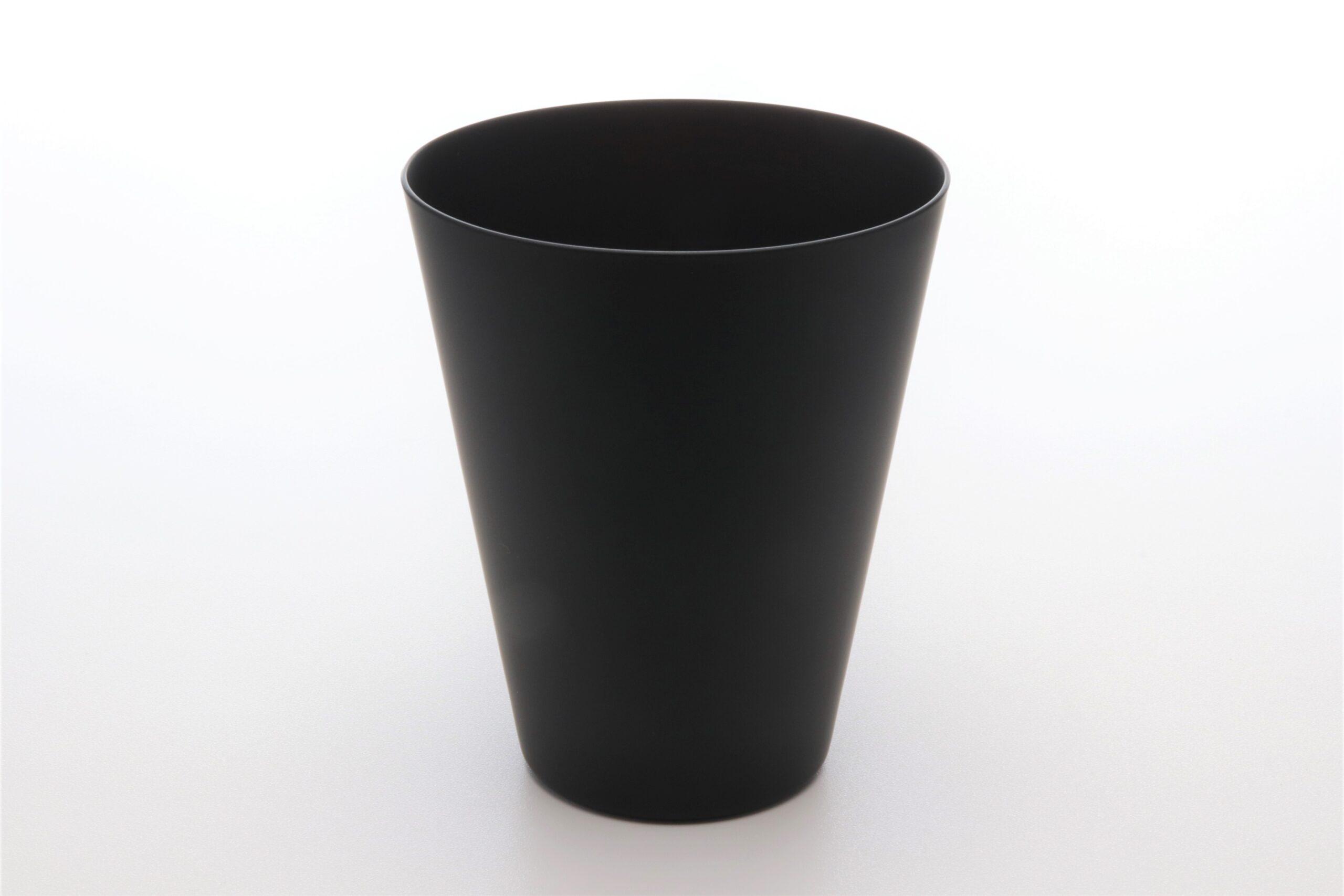 ブラックアンドホワイト<br /> タンブラーL(黒マット)
